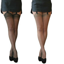 Essexee Legs Run Resist Stockings 20 Denier stockings One size 100% Nylon 1 pair
