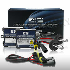 Autovizion Premum Hid kit H4 hb5 9007 6k 8k Low Diamond White HID Xenon Kit 10k