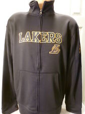 4614 NBA Exclusive Collection LOS ANGELES LAKERS Full Zip TRACK Jersey JACKET