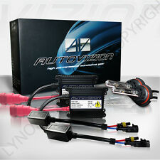55W HID 55watt Kit H1 H3 H7 H11 9006 5000K 6000k Xenon Light & Slim Ballasts hi