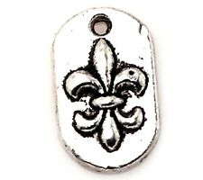 20-200 Pcs Tibetan Silver Crafts fleur-de-lis Making Charms Pendants 14*8.5mm