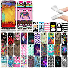 For Samsung Galaxy Note 3 N9005 N9000 Panda TPU SILICONE Rubber Flexi Case Cover