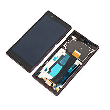 Frame LCD Touch Screen Digitizer for Sony Xperia Z LT36i LT36H L36H C6603 C6602