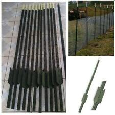 STEEL STAKES METAL FENCE POST POSTS STUDDED BARRIER FENCING FENCE PINS WIRE MESH