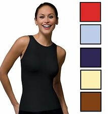 SPANX 982 On Top and In Control Sophisticated Sleeveless Crew Shapewear S M L XL