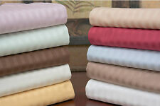 Brand New Striped 4 Pc. Fitted Bed Sheet Sets Mattress Linens Full Queen King