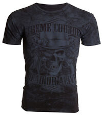 Xtreme Couture AFFLICTION Mens T-Shirt DEAD OR ALIVE Tattoo Biker UFC M-4XL $40