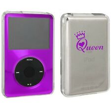 For Apple iPod Classic Hard Case Cover 6th 80 120 7th 160gb Queen with Crown