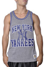 Mitchell Ness MLB New York Yankees Strike Three Cooperstown Muscle Tank Top