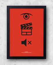 """Mac Miller Poster """"Watching Movies with the Sound Off"""", Delusional Thomas, Wiz"""