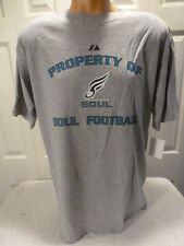 4629 Mens MAJESTIC Apparel PHILADELPHIA SOUL Football Jersey Shirt NEW Gray