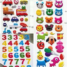 CartoonS tickers Arabic Number 0-9 Letters Fridge Magnets Child Educational Toy
