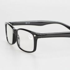 Black Classic Unisex Reading Glasses +1.00 +1.25 +1.50 +1.75 +2.00 +3.00 +4.00