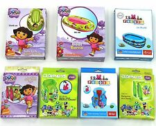 Dora Explorer Clanners Pocoyo Inflatable Swim Pool Vest Arm Bands Paddling Boat