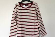New Girls Long Sleeve Striped Top Next Age 6, 8 Years *FREE P&P*