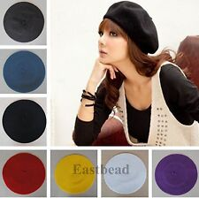 100% Wool Fashion French Style Women Laides's Beret Beanie Warm Hat Cap Tam