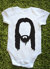 Jesus Baby Grow Cute Vest Holy Religion God Pray Hipster Swag NEW Gift R0410