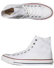 New Converse Women's Womens Chuck Taylor All Star Hi Top Shoe Canvas Shoes White