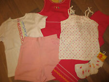 NWT Gymboree Vintage Rainbow Sherbet Ice-Cream Dress,Pant,Top,Sock Girl 6,7 UPIC