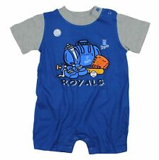 Kansas City Royals Baby Infant Creeper Romper in Team Colors MLB New