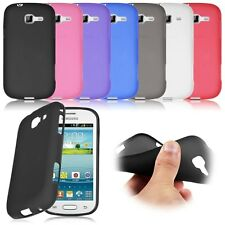 Soft TPU Silicone Gel Back Case Cover For Samsung Galaxy Trend Lite S7390 S7392