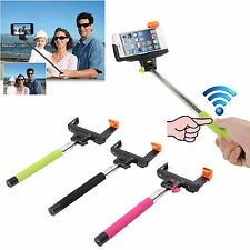 Wireless Bluetooth Extendable Monopod Self Portrait for iPhone 5S 5 5C 4 4S IOS