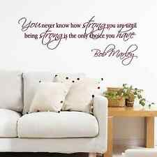 Bob Marley, Quotes, motivational, Wall Sticker Decal, SS2269