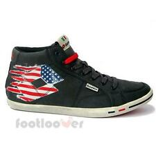 Men's Lotto Wayne Mid V Q7556 Shoes Sneakers Vintage Usa Flag Navy Limited
