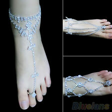 1PC Stylish Women Barefoot Sandals Beach Foot Jewelry Wedding Ankle Chain Anklet