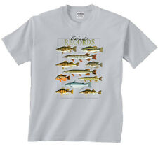 Freshwater Records Shirt  Fish of The Relative Northern US & Canada
