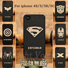 New Men Hard Back Mobile Phone Skin Case Cover For Apple iPhone 5 5c 5s 4s 02J