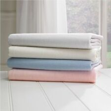 2x Cot Bed 100% Cotton Jersey Fitted Sheet Toddler Bed Size 140cm x 70cm New!