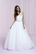 Sophi by Balbier Ivory Tulle Fairytale Princess Wedding Dress UK10 ALS