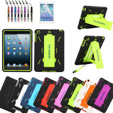 For Apple iPad Mini With Retina Display Dual Layer Hybrid Stand Hard Cover Case