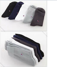 Men's Useful Bussiness Bamboo Carbon Fiber Sports Breathability Middle Socks HOT