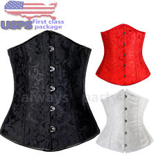 New Fashion Sexy Lady's Underbust Cincher Top  Lace up High-Class Pure Corset AP