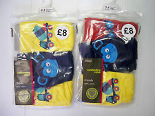 Two Packs (6 Pairs) Boys cotton briefs/pants - age 2-3 years - 6-7 years new!!