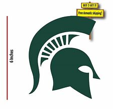 Michigan State Spartans Decal/Sticker MSU Die Cut Choose Size and Color NEW