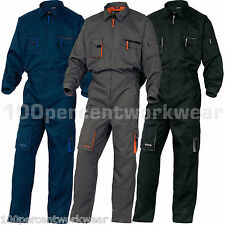 Delta Plus Panoply M2COM MACH2 Mens Work Overalls Coveralls Boilersuit Mechanics