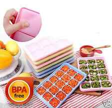 Ice cube tray with lid, Storing and Freezing Baby Food,ingredients,vegetables