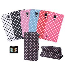 Cell Phone Case Bag Leather Cover Protection Case Cell Phone Fold Case Dots