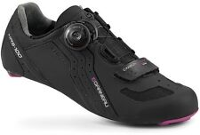 LOUIS GARNEAU CARBON LS-100 BOA WOMENS ROAD BIKE SHOES BLACK 2014