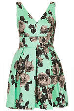TOPSHOP *Stand Out Flower Prom Dress* NEW_UK6_8_10_12_14_16