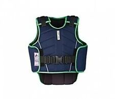 NEW TAGS HARRY HALL CHILDS BODY PROTECTOR VEST ALL SIZES NAVY/APPLE  GREY/PINK