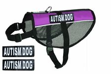 Service Dog Vest Harness Mesh for Small Medium dogs with 2 patches FREE SHIPPING