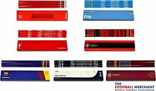 Officiel Football Club - Grand Logo 4pk Crayon Lot - Papeterie École Boite De