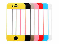 Tempered Glass Film Guard Screen Protector + Mobile Phone Holder For iPhone 4 4S