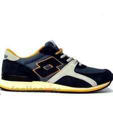 Men's Lotto Record IV R0719 Shoes Sneakers Fashion Moda Nautic/Honey