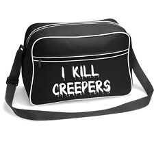 I Kill Creepers Retro Shoulder Bag pc gamer controller xbox 360 xbox one ps3 ps4