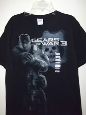 GEAR OF WAR 3 GOW3  New Men's T-SHIRT Tee Black S  L
